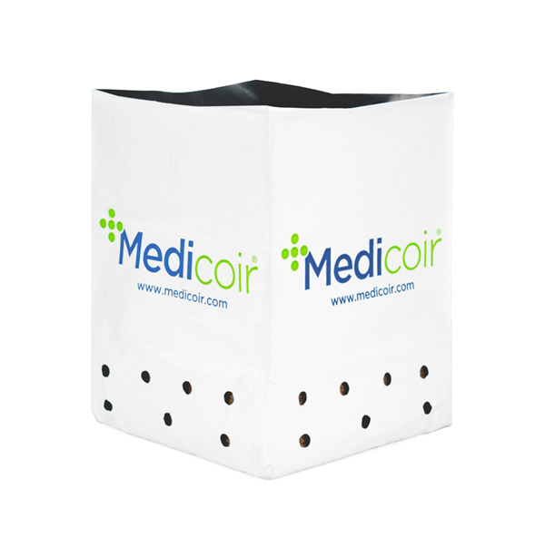 Cocopeat open top container by Medicoir.